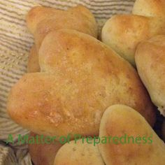 """Valentine's Day is quickly approaching.  See how easy it is to make """"Heart"""" shaped rolls for a special dinner with that certain someone or for your family!  It makes a really fun addition to your celebration and they can be made from your Food Storage Staples. Check it out!  #amatterofprep"""