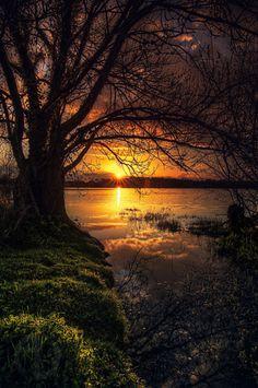 "wowtastic-nature: "" 💙 lac de beaulieu on by Antoine Daniel, Nantes… Amazing Sunsets, Amazing Nature, Beautiful World, Beautiful Images, Beautiful Things, Landscape Photography, Nature Photography, Scenic Photography, Image Nature"