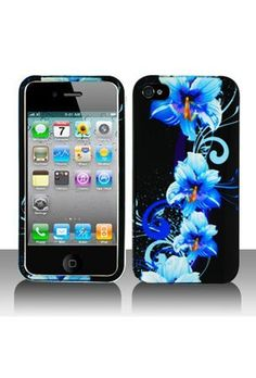 Crystal Hard Faceplate Cover Case With Blue and Black Flower Design for Apple Iphone 4G by AccessoryOne, http://www.amazon.com/dp/B0040HIKRY/ref=cm_sw_r_pi_dp_dME3qb17JAGVN
