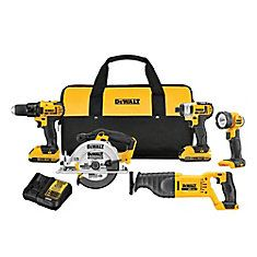 DEWALT Max Power Tool Combo Kit with Soft Case (Charger Included and Included) at Lowe's. DEWALT MAX Compact Cordless Combo Kit features a drill/driver with a transmition, a impact driver offering LED Dewalt Power Tools, Cordless Power Tools, Cordless Drill Reviews, Cordless Hammer Drill, Home Depot, Led Work Light, Work Lights, Compact, V Max