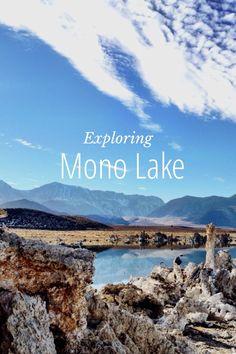 Exploring Mono Lake - Tricia Byrnes's Story on STELLER #steller