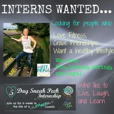 Want to know more about what I do?  Comment below or find me on FB @ April Drydgen  Group starts August 10/15 *Cannot be working with another coach*
