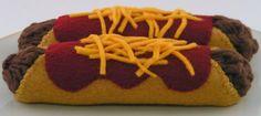 Items similar to Felt Food Enchiladas on Etsy