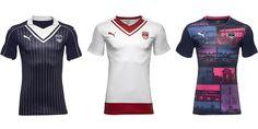 Camisas do Girondis Bordeaux 2016-2017 Puma