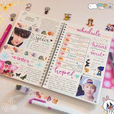 random spread for exo's schedule • bullet / kpop / exo journal ♡
