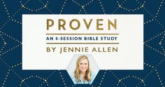 Happy Release Day, #ProvenBibleStudy! See how Christ's abundance meets our great need in this new Bible study by Jennie Allen with #LifeWayWomen!