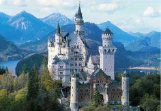 Germany, Walt Disney palace