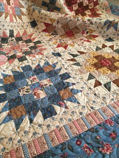 Georgetown Quilt pattern by Nancy Rink featuring Georgetown fabrics by Judie Rothermel for Marcus Fabrics.