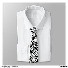 #ZAZZLE Graphic Tie by Elenaind
