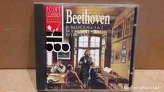 BEETHOVEN. ROMANCE Nº 1 & 2 / MOONLIGHT / WALDSTEIN PATHETIQUE. CD / POINT CLASSICS - LUJO.