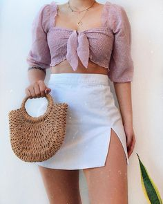Likes, 46 Comments - Daily Outfits Teenage Outfits, Girly Outfits, Cute Casual Outfits, Outfits For Teens, Pretty Outfits, Stylish Outfits, Fashion Outfits, Summer Outfits Women, Looks Style