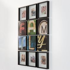 Give your cherished photos a retro accent with a fun frame set. #JustForMom #Kohls