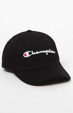 Champion Classic Twill Strapback Dad Hat fec3d30e7106