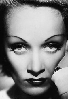 Marlene Dietrich. The woman who inspired butterfly lighting.