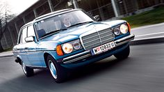 Mercedes Benz W123 http://www.autorevue.at/zeitreise/zeitmaschinen/neuer-hut.html