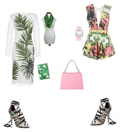 """Untitled #139"" by aayushis on Polyvore featuring Alejandra G, Dolce&Gabbana, NOVICA, Posh Girl, MICHAEL Michael Kors and Cerruti"