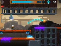 Rock Runners (iOS) • ★★★★★ • If you like runners as much as I do, this is a nice little runner. Lots of levels, challenging, nice 3-star leveling system. In some places things can be precise, other levels are easier, but it's a good mix.