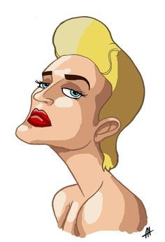 madonna cartoon | madonna blond ambition tour by nicotronick cartoons comics digital ... | Madonna