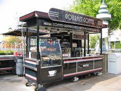 Coffee Cafe, Cart, Wheels, Cool Stuff, Image, Furniture, Kaffee, Covered Wagon, Karting