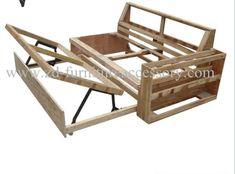 Handmade Wood Furniture, Modern Wood Furniture, Folding Furniture, Furniture Styles, Upholstered Furniture, Home Decor Furniture, Sofa Cumbed, Wood Sofa, Diy Sofa