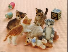 needle felting projects | Needle felting ebook cats Super clear No. 21 by ebooksbooth