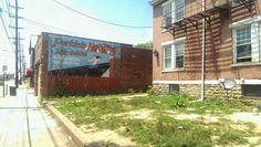 Perkins Roofing ghost sign, Cincinnati, OH