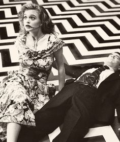 Heather Graham and Kyle McLaughlin in Twin Peaks