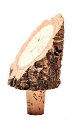 Tree Bark Wine Stopper