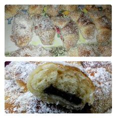 Rožky ako pavučinka obaľované v kokosovej múčke (fotorecept) - obrázok 5 Food And Drink, Party, Basket, Parties, Receptions