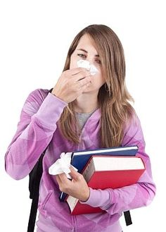 The only thing worse than being sick is being sick at school.