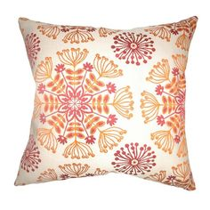I pinned this Kaleidoscope Pillow from the Shades of Style: Bold & Bright event at Joss and Main!