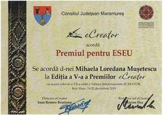 Femlora: Premiul pentru eseu eCreator