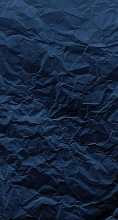 Paper Creased Blue Texture iPhone Wallpaper