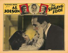 Lobby Card from the film The Singing Fool
