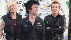 The best thing to eat after a show is…  Billie: pizza.  Mike: a Beer.  Tré: a nice Brazilian.