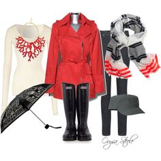 """""""Puddle Jumper"""" by orysa on Polyvore"""