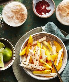 """Chile-Lime Mango and Jicama 
