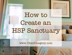 """For my highly sensitive ladies!! This is gold! My Clutter Free journey began in my bedroom. Like many clutterers, I'd spent decades using our master bedroom as the """"just throw it all in there and slam the door"""" stash-and-dash solution when company was due in an hour. But discovering that I'm an HSP—a Highly Sensitive Person—has transformed how I view my bedroom. HSPs are easily overwhelmed by sensory …"""