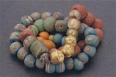 Viking beads found in Gotland, Sweden