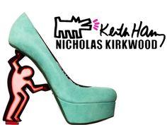 KEITH HARING FOR NICHOLAS KIRKWOOD