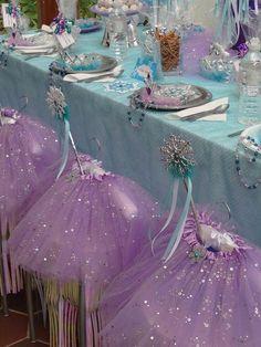 Princess Birthday Party Supplies and Princess Party Favors-Disney Princess Party Ideas. Disney Frozen Party, Frozen Birthday Party, 4th Birthday Parties, Birthday Ideas, Frozen Party Favors, Themed Parties, Elsa Birthday, Princess Birthday, Girl Birthday