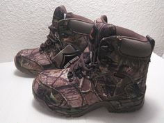 GAME WINNER All Camo Hiker Youth Boots 4 Medium - http://sports.goshoppins.com/hunting-equipment/game-winner-all-camo-hiker-youth-boots-4-medium/
