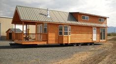 gromer park model tiny house by rich daniels 001 600x337   Gromer Park Model Tiny Home on a Trailer