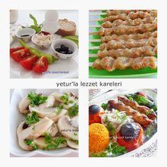 Yetur'la Lezzet Kareleri.com: 1 ayda 10 kğ verdiren diyet listesi