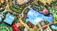 ADLABS Imagica Theme Park, India Designed By Attractions-International Ltd. #themepark# #planning#