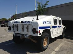 Long Beach Police - former army vehicle