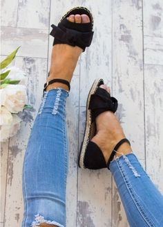 FeiYiTu Shoes Woman 2019 High Heels Female Fine With Sexy Buckle Women Shoes zapatos mujer chaussure femme talon schuhe damen - Fashion Trendy Shoes, Cute Shoes, Women's Shoes, Wedge Shoes, Me Too Shoes, Shoe Boots, Shoes Style, Cute Casual Shoes, Flat Sandals