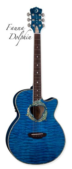 Would love to add this Luna Guitar to my collection!