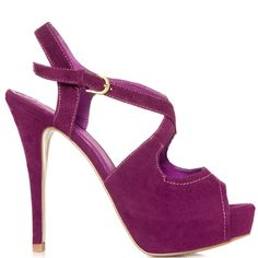 Delainey heels Purple brand heels JustFab