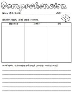 Reading Programming eBook - guided reading, worksheet $5.50
